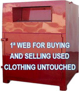 Marketplace for buying and selling original untouched used clothing